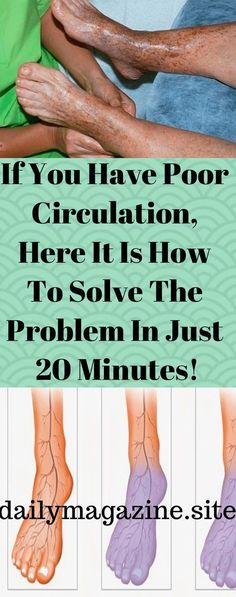 Poor circulation is a common health problem affecting people of all ages. According to the experts, this health problem can be caused by many different things, such as: high cholesterol levels, inactivity, poor diet, etc. We can easily say that blood circulation is one of the first affected segments of a sedentary lifestyle. But, the problem …
