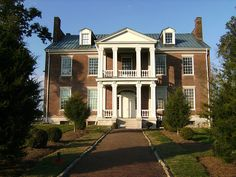 Carnton Plantation.  This is the front of the home.
