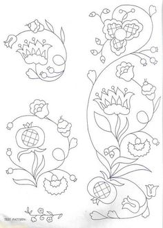 55 Flower Designs: For Cross Stitch, Canvaswork and Crewel Embroidery - Embroidery Design Guide Bordado Jacobean, Crewel Embroidery Kits, Embroidery Flowers Pattern, Embroidery Needles, Learn Embroidery, Ribbon Embroidery, Embroidery Designs, Flower Patterns, Indian Embroidery