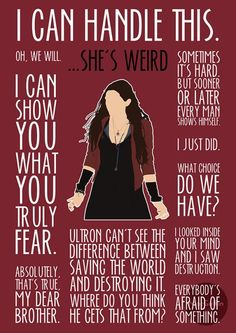 Scarlet Witch Art Print by britishindie - Marvel Universe The Avengers, Avengers Quotes, Marvel Quotes, Marvel Funny, Marvel Dc Comics, Marvel Heroes, Captain Marvel, Scarlet Witch Marvel, Elizabeth Olsen
