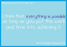Everything is possible...