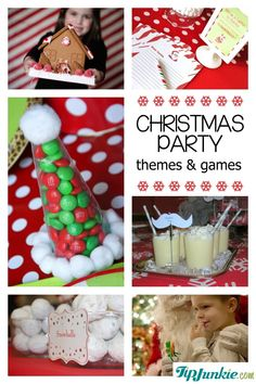 34 Christmas Games and Party Themes {best parties ever!}