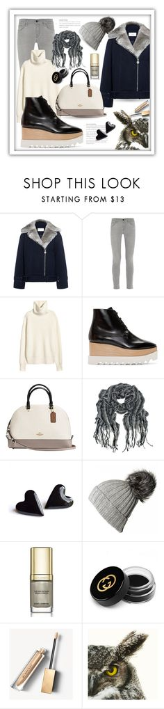 """""""Platform Boots"""" by queenofsienna ❤ liked on Polyvore featuring Carven, Frame, STELLA McCARTNEY, Coach, Black, Dolce&Gabbana, Gucci, Burberry and PlatformBoots"""