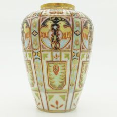 Liberty & Co - An Art Deco hand painted vase