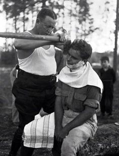 Need a Professional Shave?  Call Us, not him :) www.menspa.eu