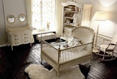 Shabby Chic  Ummm WOW!  is all I can say, what an amazing crib!
