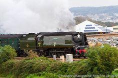 34067 Tangmere near Langstone Rock, Dawlish Warren, Devon