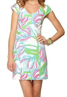 Absolutely love my Lilly Pulitzer Desiree Sheath Dress for Easter