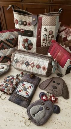 Hexagon Patchwork, Japanese Patchwork, Japanese Bag, Japanese Quilts, Patchwork Bags, Quilted Gifts, Quilted Bag, Fabric Handbags, Fabric Bags