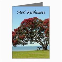 merry christmas in maori | Meri Kirihimete - Merry Christmas Greeting Card from Maori Creations