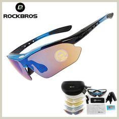 RockBros Polarized Cycling Sun Glasses Outdoor Sports Bicycle Glasses Bike Sunglasses Goggles Eyewear 5 Lens - Mountain Bikes For Sale Cycling Sunglasses, Oakley Sunglasses, Beach Sunglasses, Lens And Frames, Bike Mtb, Road Bike, Polarized Glasses, Sports Glasses, Womens Glasses