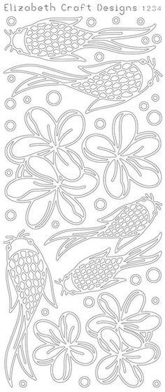 Koi Fish & Fleurs (SKU 2514) §