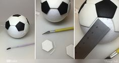 balon futbol fondant 10