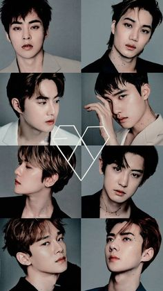 The EXO members just get better and better with age Kpop Exo, Baekhyun Chanyeol, Exo Bts, Bts And Exo, Ff Exo, K Pop, Luhan And Kris, Exo Album, Exo Group