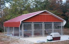 Most up-to-date No Cost dog kennel building Concepts Many men and women whom pu. : Most up-to-date No Cost dog kennel building Concepts Many men and women whom purchase outdoor canine dog houses, haven't any knowledge on HOW TO KENNEL TRAIN Your DOG. Dog Pen Outdoor, Outdoor Dog Kennel, Diy Dog Kennel, Dog Kennels, Kennel Ideas, Dog Kennel Flooring, Dog Boarding Kennels, Dog Kennel Designs, Outside Dogs