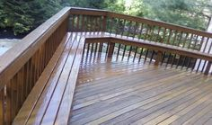 Build Wooden Deck Benches | Interior Home Design | Home Decorating