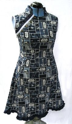 Star Wars dress... I wouldn't want to wear it though