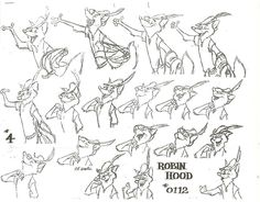 """Robin Hood"" by Milt Kahl* 