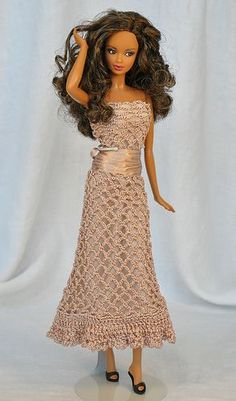 Die 100 Besten Bilder Von Barbiekleider Baby Doll Clothes Crochet