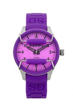 SYL120V - Superdry Scuba dames horloge