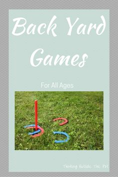 Backyard games for a