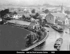 Overschie, genomen vanaf de toren van de oude dorpskerk. Rotterdam Port, History, City, Roots, Nostalgia, Viajes, Historia, Cities