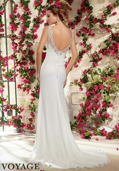 The back of this dress is just what i would have