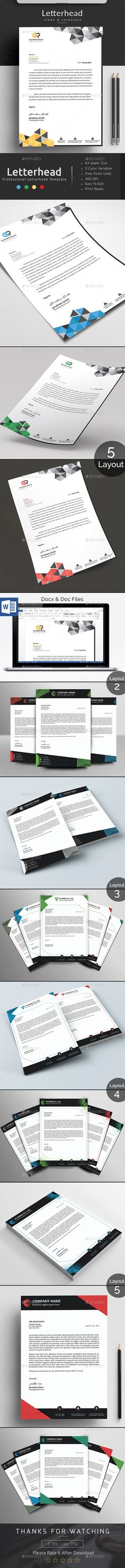 967 best letterhead design templates images in 2018 card templates