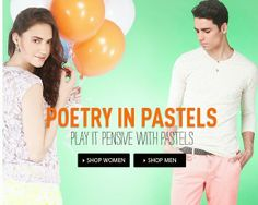 Benefits of Daily Deals, Offers by Our Discount Coupons: Pay it Pensive with Pastels at Jabong. Knock Knock...