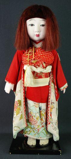 Japanese Vintage Beautiful Kimono Girl by Ichimatsu Ware from Early Showa 86 | eBay