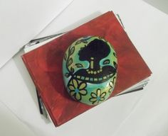 Culturally Accented Paperweight 5 by simplygail on Etsy, $12.00
