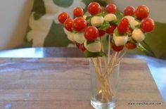 Tomato Mozzarella pops