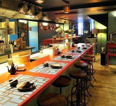 Casa Marcelo restaurante Santiago de Compostela - a fusion of Galician, Peruvian and Niponeses  1 Michelin