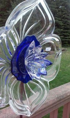 #Glass garden art, Kimber's Garden Gems on Facebook