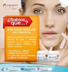 ¿SABÍAS QUE...? SI SE PUEDE TENER UNA PIEL PERFECTA ;) Solo toma en cuenta los siguientes puntos y dale luz a tu rostro con las Crema Aclaradora de Noche para piel:  Norma a Seca y Mixta a Grasa.   #yolo #tips #mujeres #belleza #aclarar #productosdebelleza   https://www.kichink.com/stores/cremas-myryam https://twitter.com/CremasMyryam
