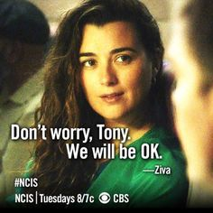 I hope some day somehow Tony and Ziva get together.maybe she'll come on the show occasionally.