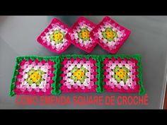 Como emendar square de crochê sem cortar o fio,Por Neddy Ghusmam - YouTube Joining Crochet Squares, Doilies, Make It Yourself, Blanket, Crafts, Youtube, Crochet Square Patterns, Square Patterns, Crochet Leaf Patterns