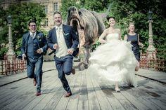 Wedding mit Dino