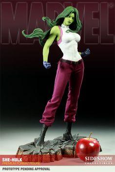Sideshow Toys amazing She-Hulk Statue