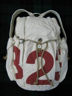 NWT Polo Ralph Lauren Rugby Vintage Cotton Sail Backpack Bag | eBay ($100-200) - Svpply