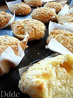 Tortini di frolla morbida e confettura   Dolci Delizie di Casa Biscotti, Muffin, Dairy, Cheese, Cookies, Desserts, Food, Home, Brioche