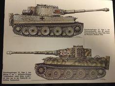 Tiger I Tarnanstrich