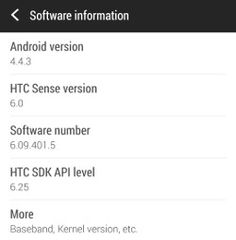 Android 4.4.3 For HTC One in Europe