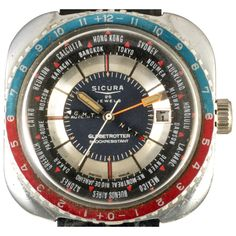 1974 Sicura Globetrotter GMT by Timeline Watch