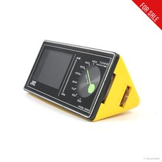 Visit the post for more. Gadgets And Gizmos, Old Tv, Happy Birthday Me, Objects, Watch, Yellow, Mini, Vintage, Clock