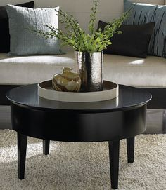 CEO Office Cocktail Table: Carolina Business Furniture Embrace Round  Cocktail Table