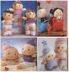 diy-muñecos-con-calcetin.jpg (563×585)