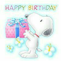 Happy Birthday with Snoopy - Bild Happy Birthday, Snoopy Birthday, Happy Birthday Pictures, Birthday Clips, Birthday Fun, Birthday Quotes, Happy Birthday Wishes Cards, Birthday Greeting Cards, Happy Birthday Wallpaper