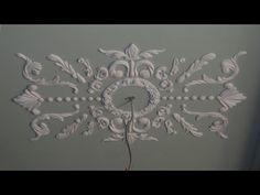Лепнина своими руками - YouTube