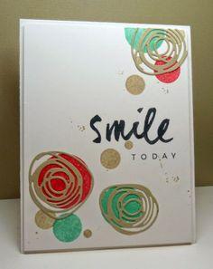 Smitten: Color Throwdown #294- smile!